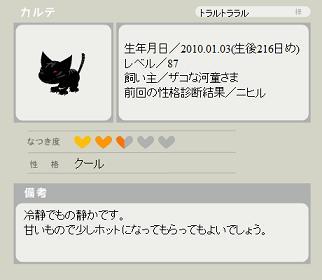 クールに戻ったトラ(100807.jpg